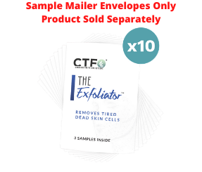 The Exfoliater® Sample Mailers - 10 Count
